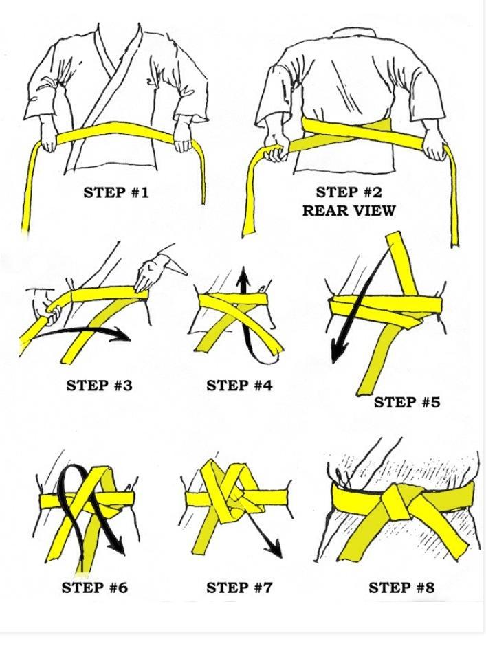 super speciali selezione straordinaria sezione speciale Come fare il nodo alla cintura di Karate